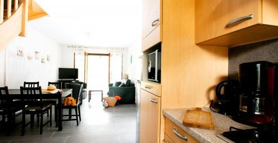Duplex SA 06 Salon cuisine